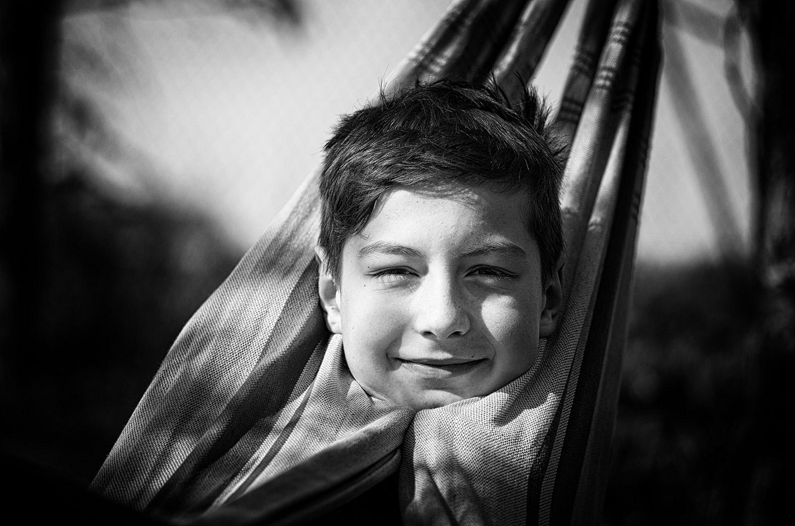 Léto v síti / In the hammock