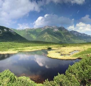 Black lake / Černé jezero