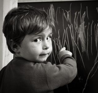 My Young Artist / Štěpánek u tabule