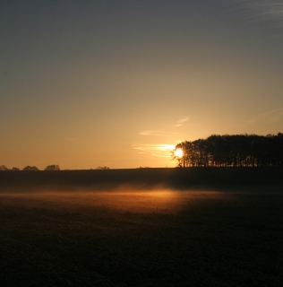 Sunset / Východ slunce